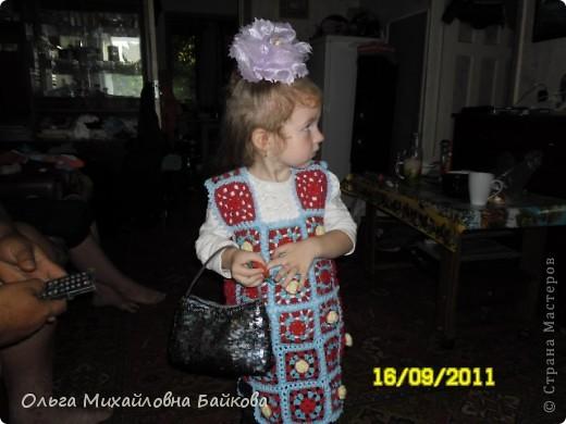 Жилетка для внучки. фото 8