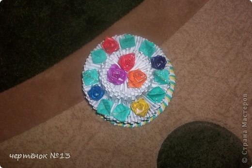 вот такой тортик я сделала для своего братика на день рожденья. фото 3