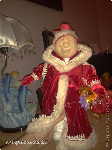 Вот такого Деда Мороза мы и будем делать. фото 13
