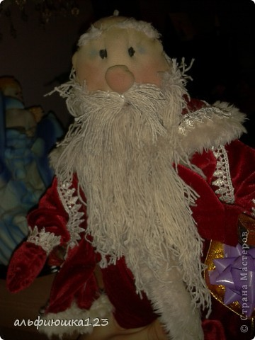 Вот такого Деда Мороза мы и будем делать. фото 17