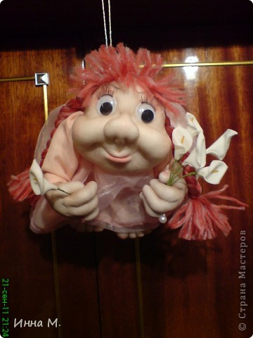 моя вторая куколка на удачу. фото 3