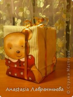 Вот такой подарочек сделала к новому году (кому станет интересно как сделала пишите отвечу) фото 1