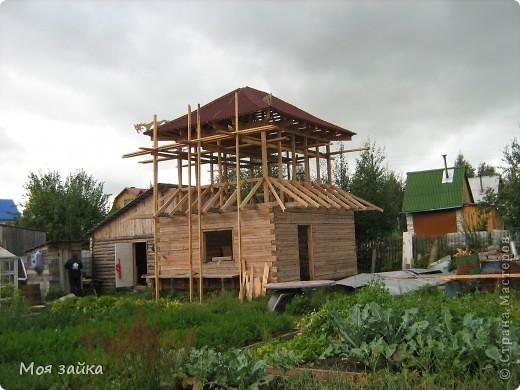 Так выглядит крыша сейчас. Законсервирована до весны. фото 6