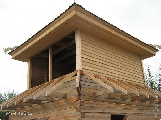 Так выглядит крыша сейчас. Законсервирована до весны. фото 11
