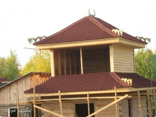 Так выглядит крыша сейчас. Законсервирована до весны. фото 1