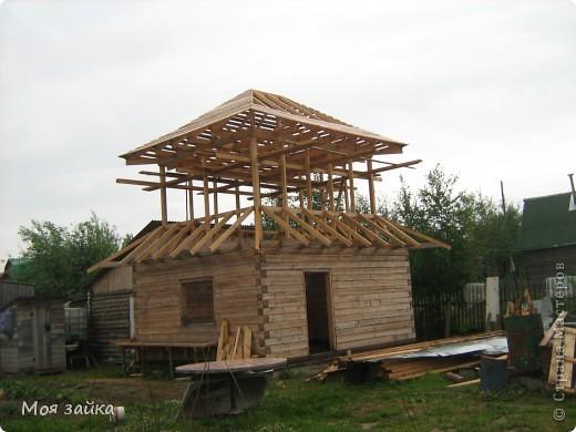 Так выглядит крыша сейчас. Законсервирована до весны. фото 3