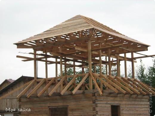 Так выглядит крыша сейчас. Законсервирована до весны. фото 4