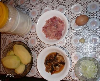 Драники из картофеля, курицы и шампиньонов фото 2