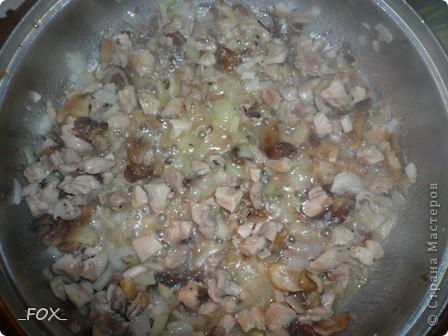 Драники из картофеля, курицы и шампиньонов фото 3