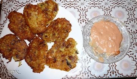 Драники из картофеля, курицы и шампиньонов фото 8