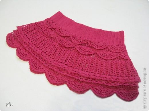 """Юбочка для дочки """"Розовое облачко"""". По мастер классу p_tasha с осинки. Пока еще ни разу не одевали, поэтому фото на модели нет."""