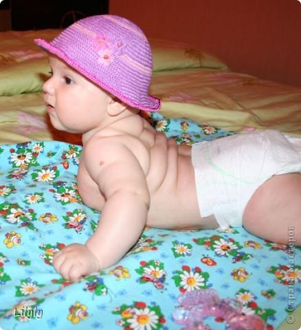 Панамка для малышки фото 2