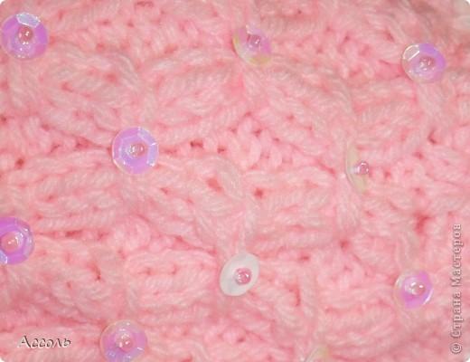 Связала такую вот шапочку для малышки на весну.  фото 4