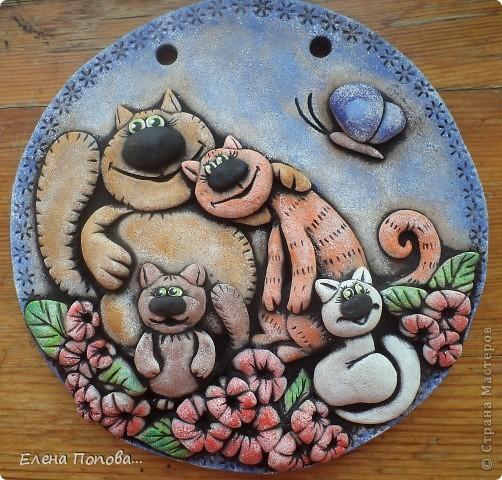 Это семейство - подарок для замечательного человечка http://stranamasterov.ru/user/101797 . Надюша - это для тебя!!! Я очень-очень старалась!!! фото 1