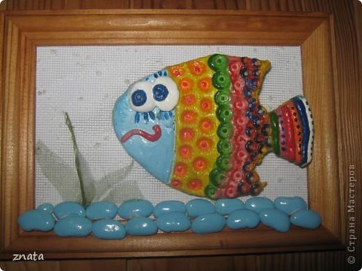 Рыбка в рамке фото 1