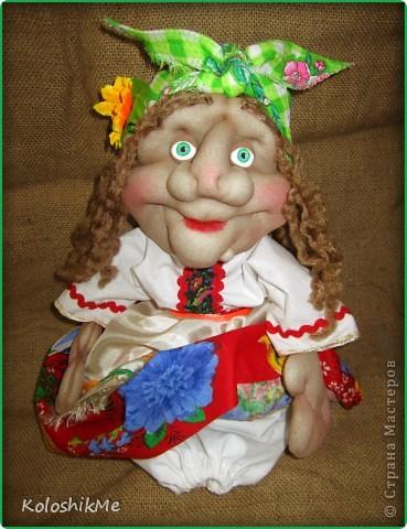 Всем привет! Свою первую Ягушу сделала на заказ, попросили куклу сделать, чтобы она была функциональной ))) И я бегом в Страну Мастеров! Спасибо Ликме за МК!!! фото 2