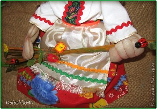Всем привет! Свою первую Ягушу сделала на заказ, попросили куклу сделать, чтобы она была функциональной ))) И я бегом в Страну Мастеров! Спасибо Ликме за МК!!! фото 4