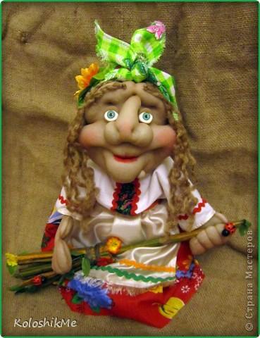 Всем привет! Свою первую Ягушу сделала на заказ, попросили куклу сделать, чтобы она была функциональной ))) И я бегом в Страну Мастеров! Спасибо Ликме за МК!!! фото 3
