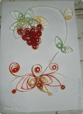 мне показалось, что здесь мало цвета, решила добавить бабочку и серединки... наверное переборщила =) фото 3