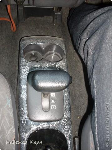 Я вообще декупажем почти не занимаюсь)))НО тут решила сделать глобальный декупаж передней панели и внутренних стоек в своей машине))) фото 12