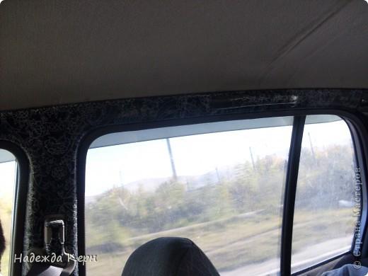 Я вообще декупажем почти не занимаюсь)))НО тут решила сделать глобальный декупаж передней панели и внутренних стоек в своей машине))) фото 8
