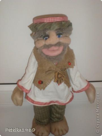 Две недели назад заказали мне трёх куколок - две бабки Ёжки и одного домового. фото 10