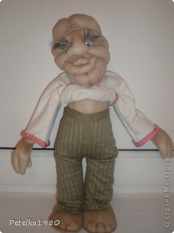 Две недели назад заказали мне трёх куколок - две бабки Ёжки и одного домового. фото 14