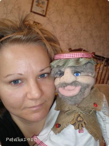 Две недели назад заказали мне трёх куколок - две бабки Ёжки и одного домового. фото 17