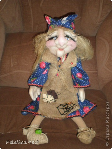 Две недели назад заказали мне трёх куколок - две бабки Ёжки и одного домового. фото 7