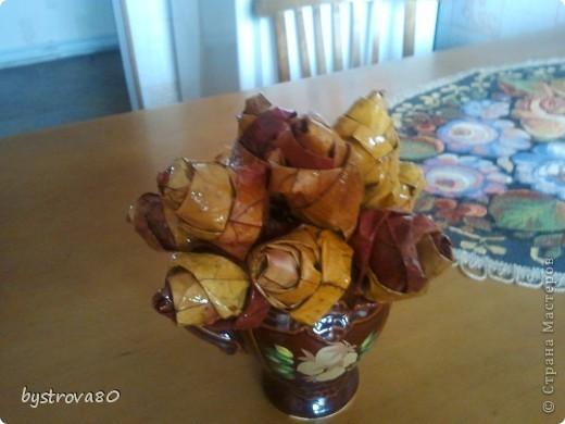 Розы из кленов фото 4