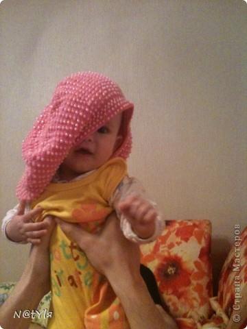 это моя дочь-модель.берет вязала для племяшки, они с сестрой живут далеко от нас - в Анапе, будет носить и нас вспоминать,как лето у нас провела... выслала уже беретик ей, жду фоток от обладательницы,обязательно размещу. фото 6
