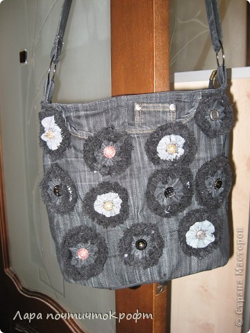 джинсовая сумочка фото 1