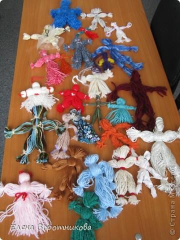 Куклы - обереги (наши первые работы)