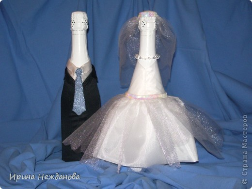 Вот такую пару я сделала на свадьбу. Устроим аукцион - будем продавать гостям )))))))))) фото 1