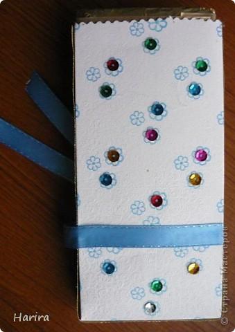 Вот такая бело-голубая открыточка получилась  на день рождение племянницы. фото 4