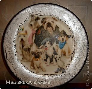 Эту тарелочку делала в подарок своей тётке на день рождение! фото 10
