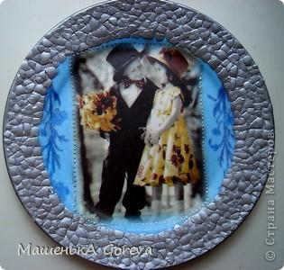 Эту тарелочку делала в подарок своей тётке на день рождение! фото 13