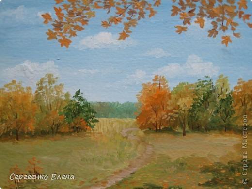 Осень - замечательное время года! Предлагаю Вашему вниманию мои осенние работы, созданные в разные годы и очень мной любимые! Особенно первая.  фото 3