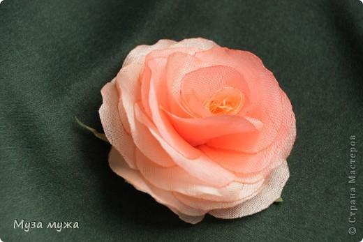 Цветы из ткани и атласных лент своими руками