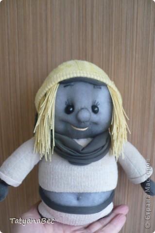 Моя первая куколка спасибо девочкам за мастер класс! фото 3