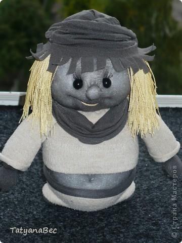 Моя первая куколка спасибо девочкам за мастер класс! фото 2