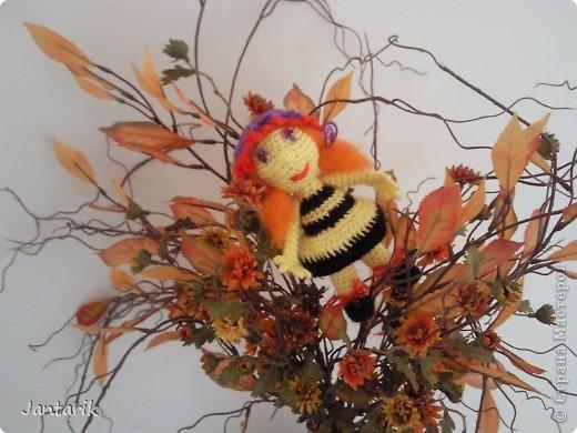 Вот семейство пчёлок-к двум уже знакомым вам пчелятам прибавилась ещё парочка-пчёлка Майя и Толстячёк. фото 6