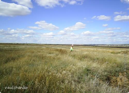 Мой поселок - Верхнезареченский (раньше назывался Селезнев Бугор) - северная окраина Волгограда.  Дальше  - степь...  фото 5