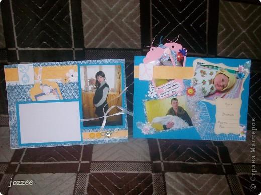 Вот соорудила свою первую скрап-страничку для альбома маленькой девочки Алисы (обложка альбома). фото 6