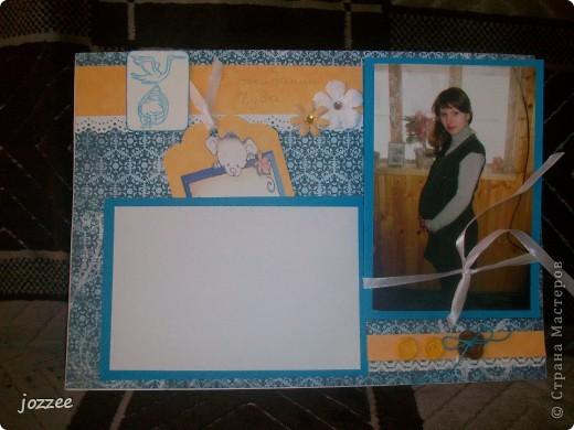 Вот соорудила свою первую скрап-страничку для альбома маленькой девочки Алисы (обложка альбома). фото 7