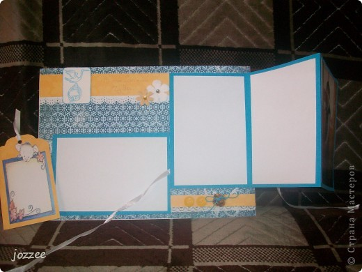Вот соорудила свою первую скрап-страничку для альбома маленькой девочки Алисы (обложка альбома). фото 9