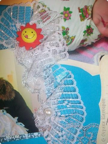 Вот соорудила свою первую скрап-страничку для альбома маленькой девочки Алисы (обложка альбома). фото 14