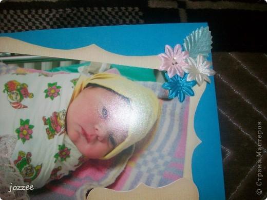 Вот соорудила свою первую скрап-страничку для альбома маленькой девочки Алисы (обложка альбома). фото 16