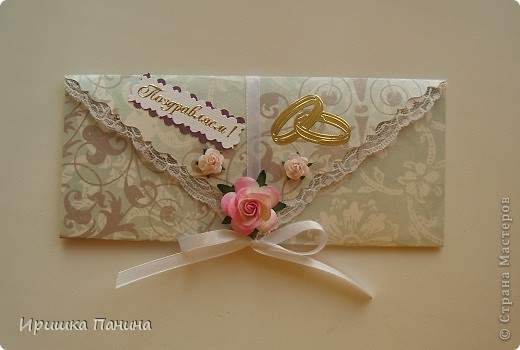 Свадебные конверты для денег фото 3
