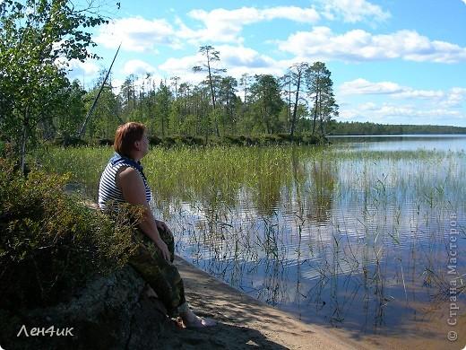 Решили мы отдохнуть на карельских озерах. Рыбки половить. Пожить в почти диких местах. Дорога встретила нас неласково и ничего хорошего не предвещала. фото 9